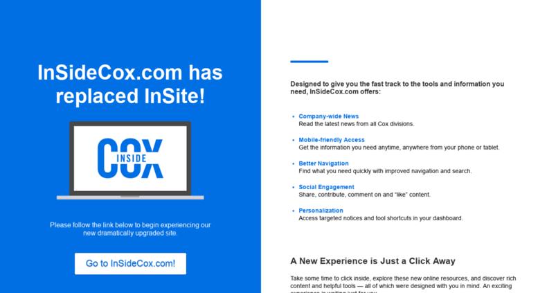 insite extranet cox enterprises