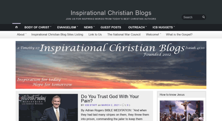 Christian blog sites