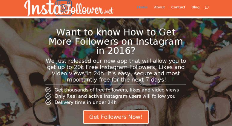 Access instafollower net  Get Free Instagram Followers Fast | 20k