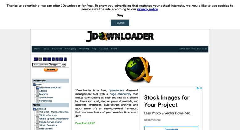 Access installer jdownloader org  JDownloader org - Official