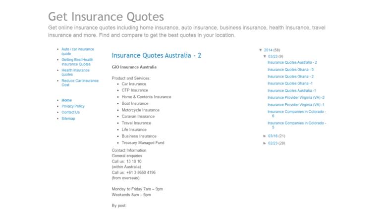 Car Insurance Quotes Quick
