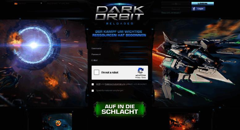 Access int2 darkorbit com  DarkOrbit Reloaded | MMO & space shooter