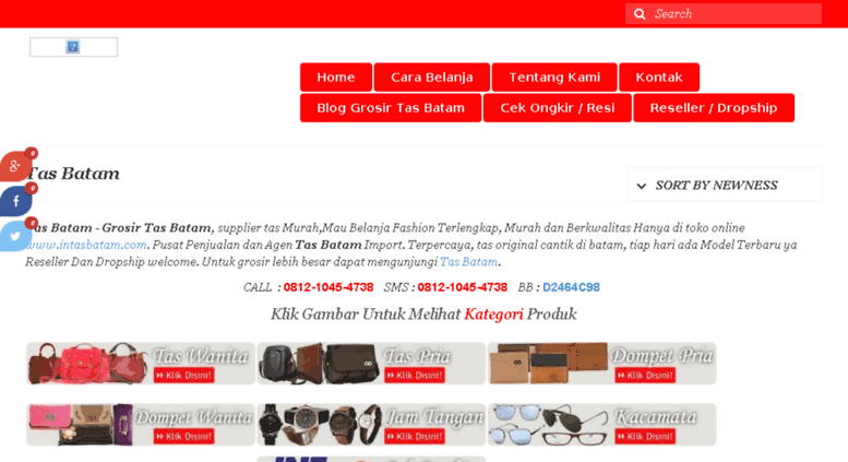 Access intasbatam.com. Tas Batam  5bd8773521