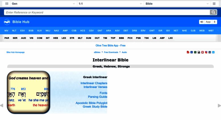 Access interlinearbible org  Interlinear Bible: Greek