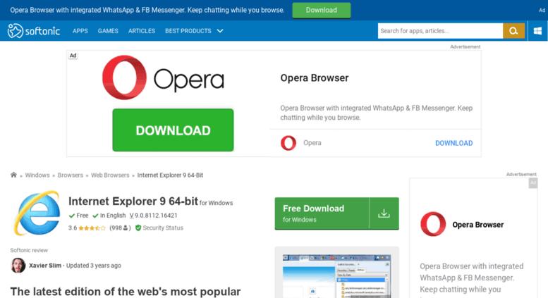 internet explorer for windows 7 download 64 bit free