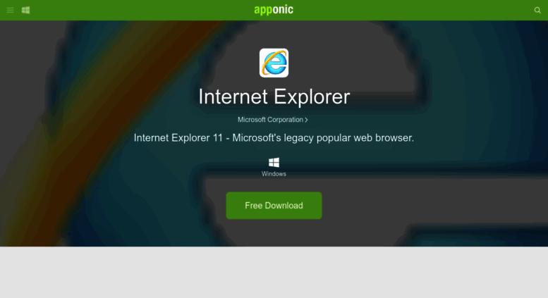 Internet explorer latest version free download