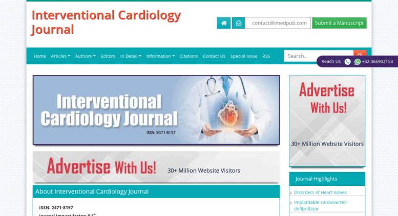 Access interventional-cardiology imedpub com  Interventional