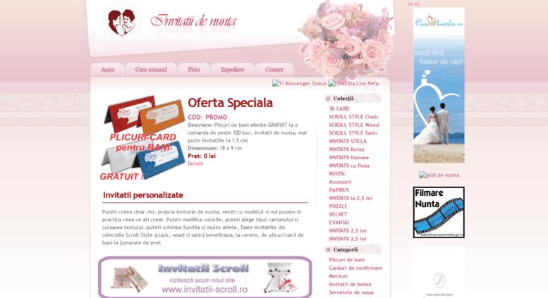 Access Invitatii Nuntaro Invitatii De Nunta Invitatii De Botez