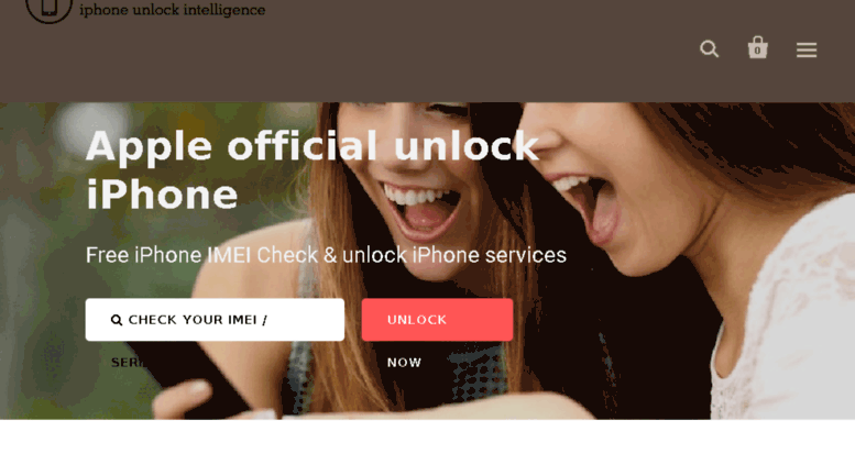 Access iphone-imei-unlock myshopify com  iPhone IMEI Unlock | Free