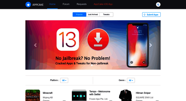 Access iphonecake com  Cracked iOS & Mac App Store Apps Free