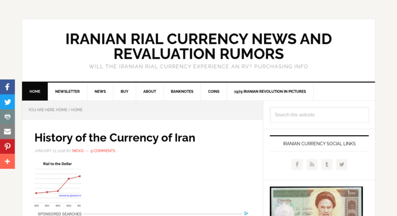 Access iranianrial globalcurrencyreset net  Iranian Rial Currency