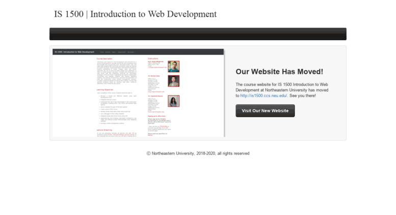 Access is1500 weebly com  IS1500 | Introduction to Web