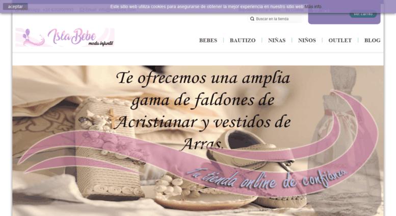 el precio se mantiene estable buscar cómo hacer pedidos Access islabebe.com. ISLABEBE. Tu tienda online moda ...