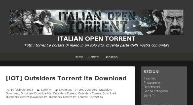 torrent download serie tv ita