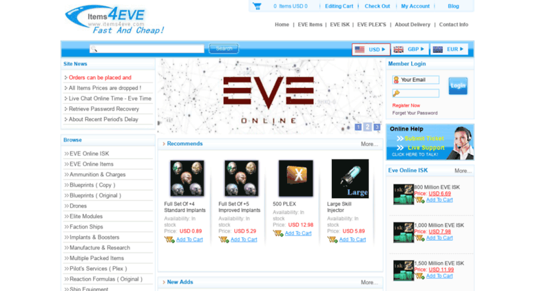 Items4eve Screenshot