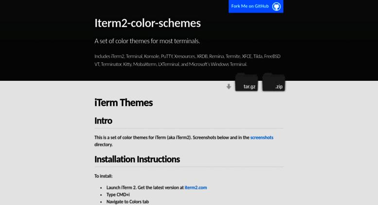Access iterm2colorschemes com  Iterm Themes - Color Schemes