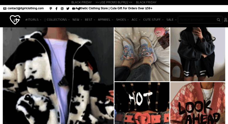 Access Itgirlclothing Com Itgirl Shop Tumblr Aesthetic Clothing