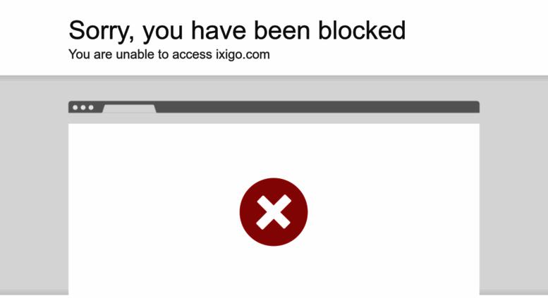 Access ixigo com  ixigo - Flight Booking, Train Reservation, Hotels