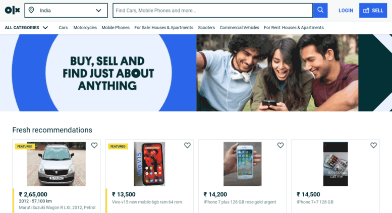 Access jalgaon olx in  OLX - Buy and Sell for free anywhere in India