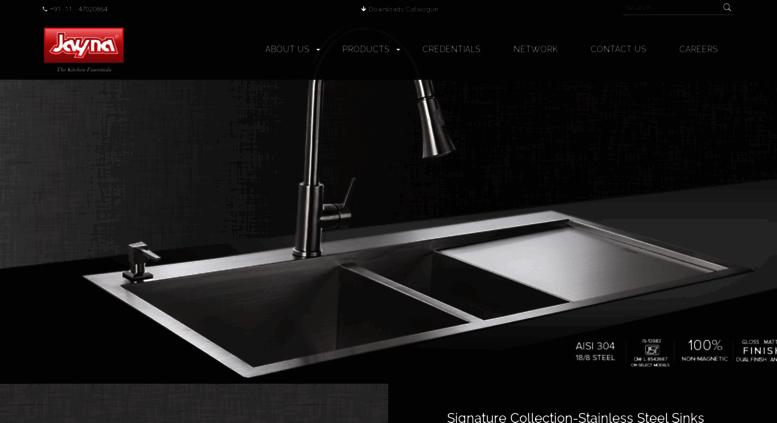 Access jaynasinks.com. Best Stainless Steel Kitchen Sink ...
