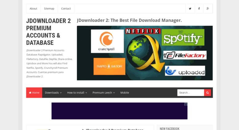 1fichier Jdownloader