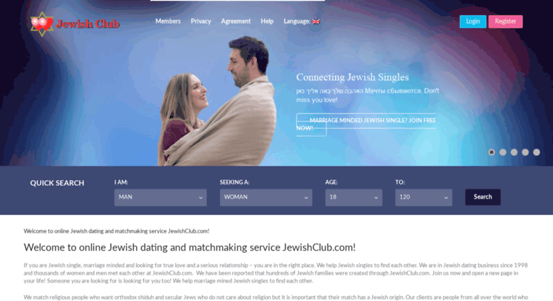 Russian jewish dating website