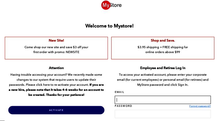 Jnj My Store >> Access Jjmystore Com Jjmystore Com