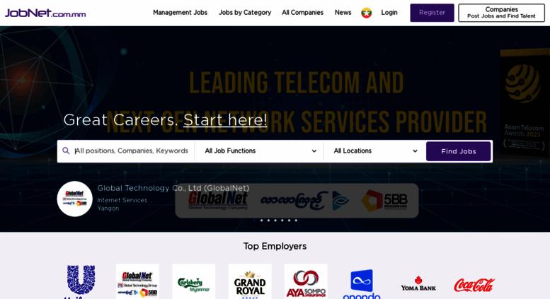 Access jobnet com mm  JobNet com mm | Myanmar no 1 Jobs
