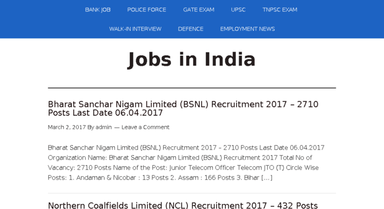 Access jobs geod in  All India Government Jobs, Jobs