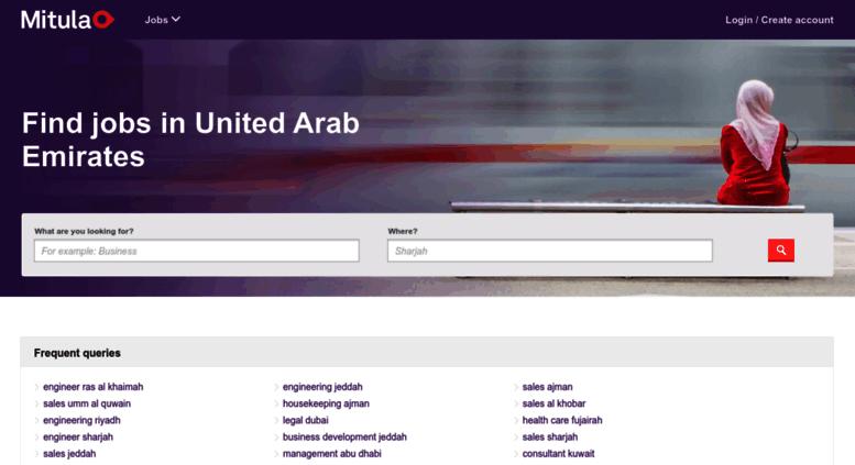 Access jobs mitula ae  find jobs in United Arab Emirates | Mitula Jobs