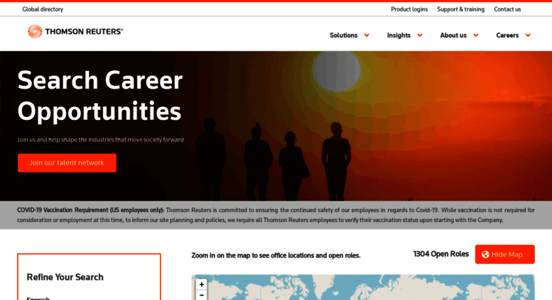 Access jobs thomsonreuters com  Jobs and Careers at Thomson