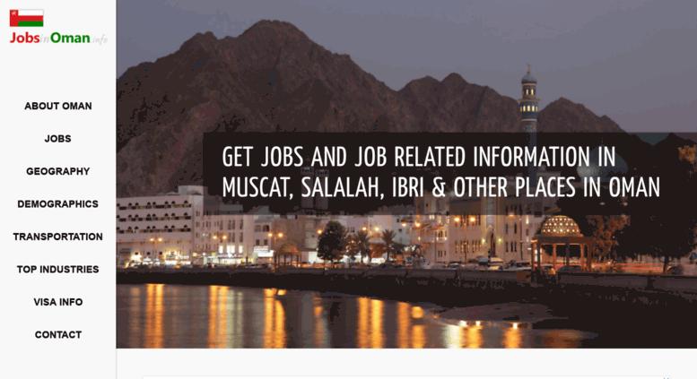 Access jobsinoman info  Jobs in Oman