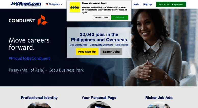 Access Jobstreetph Jobs In Philippines Job Search