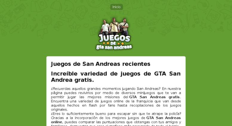 Access Juegosdegtasanandreas Net Juegos De Gta San Andreas 5