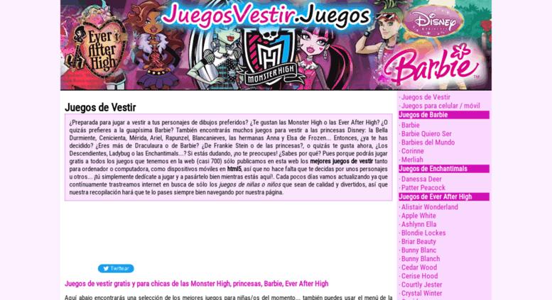 Access Juegosvestirjuegos Juegos De Vestir Monster High