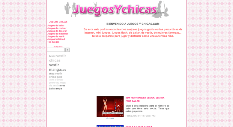 Access Juegosychicascom Juegos De Chicas Para Niñas Online