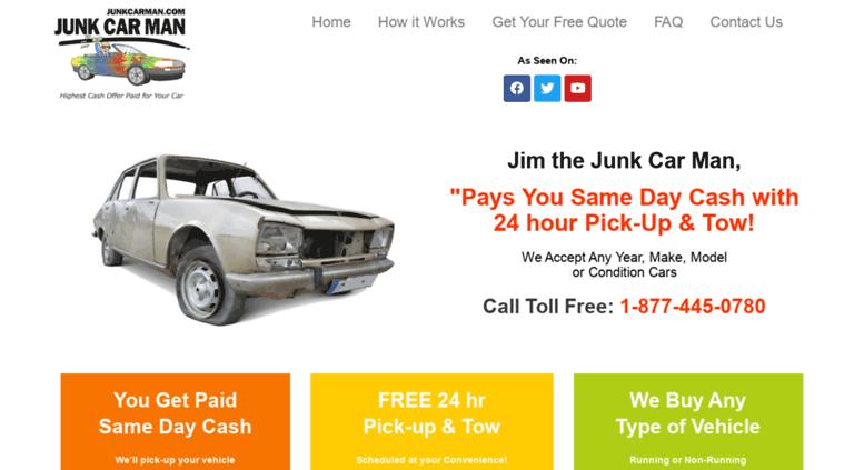 24 Hour Junk Cars >> Access Junkcarman Com Salvage Car Junk A Car Scrap A Car Junk
