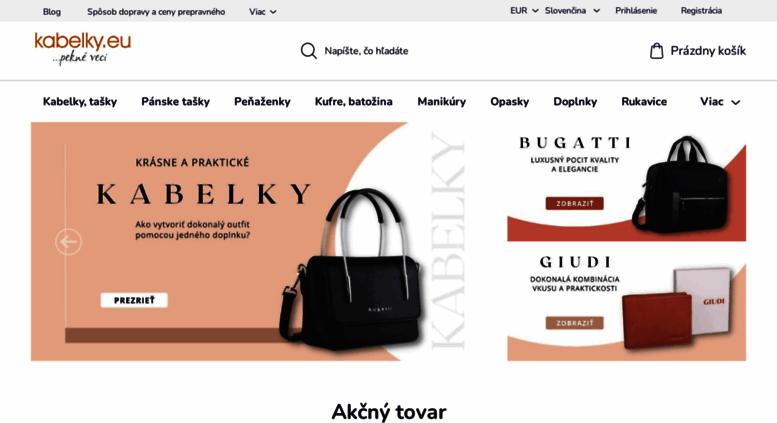e9c9ff366a Access kabelky.eu. Kabelky
