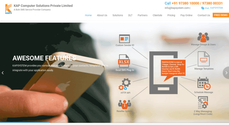 Access kapsystem com  Best Bulk SMS Services Providers