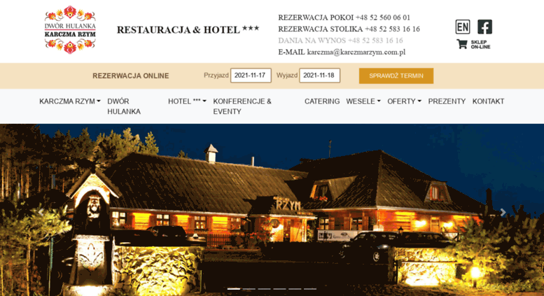 Access Karczmarzymcompl Karczma Rzym Sala Weselna Bydgoszcz