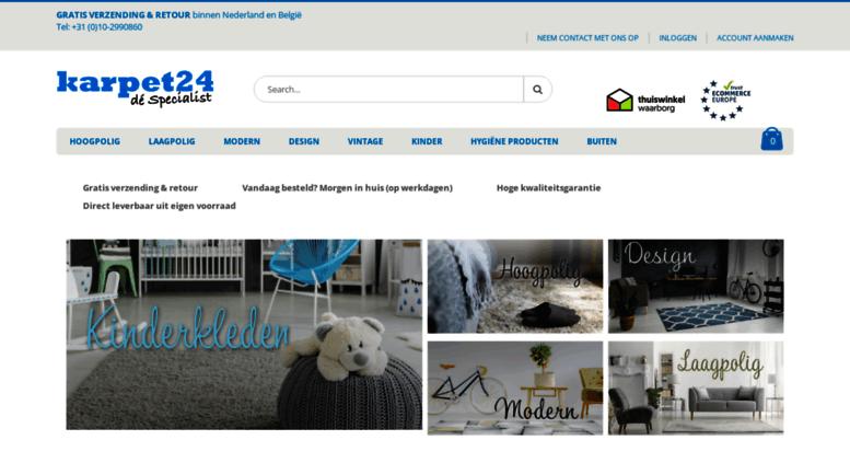Access karpetexpert.nl. Vloerkleed kopen? Vandaag besteld