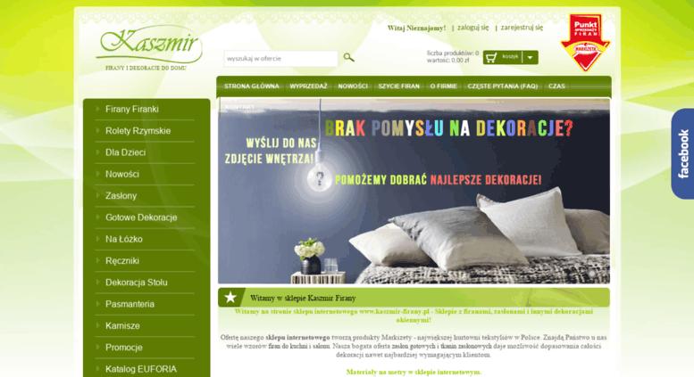 Access Kaszmir Firanypl Firany I Firanki Sklep Z