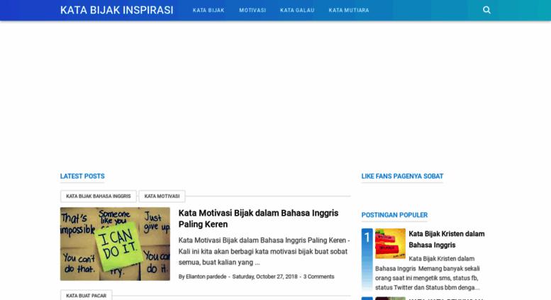 Access Katabijakinspirasikublogspotcom Kata Bijak Inspirasi