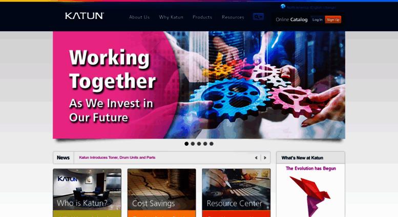 Access katun com  Toner, drums & parts for imaging equipment