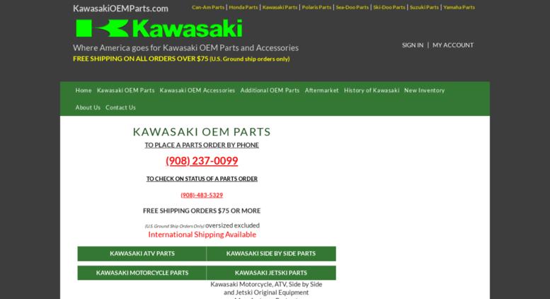 Access kawasakioemparts com  Kawasaki OEM Parts Free