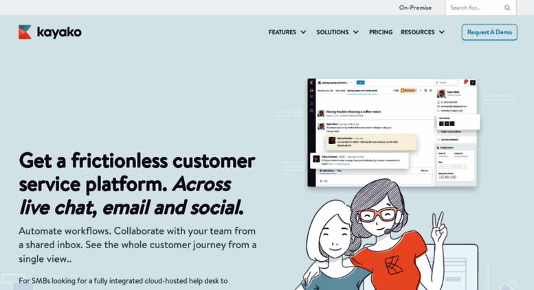 Access kayako com  Help Desk Software Kayako Unified Customer
