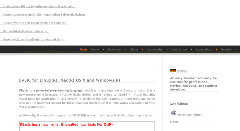 Visual Basic Download Mac