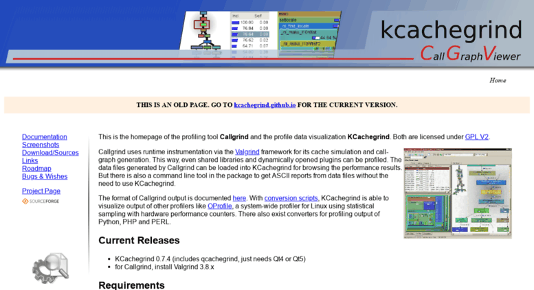 Access kcachegrind sourceforge net  KCachegrind