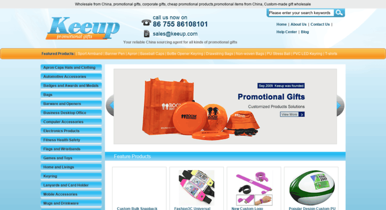 Access keeup com  Wholesale promotional Items -Promotional products