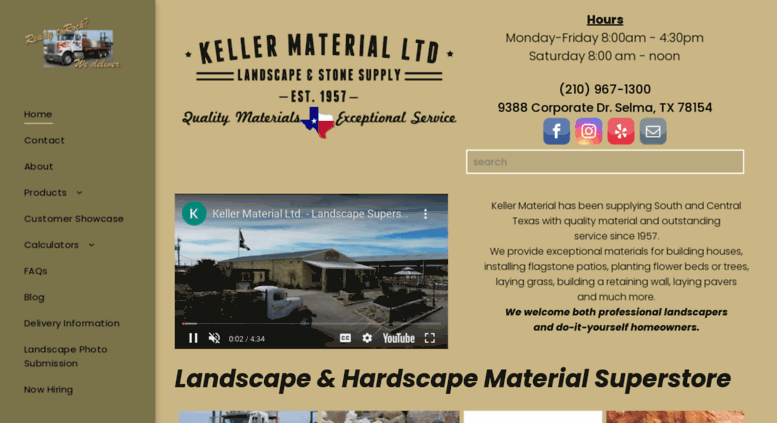 Access Kellermaterialcom Keller Material Stone And Landscaping